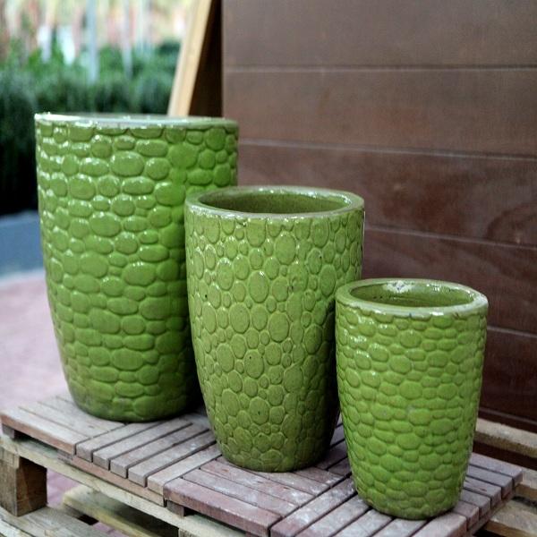 Green Ceramic Pots M-CP-HL101-IP
