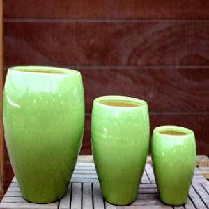 Green Ceramic Pots M-CP-49-IP