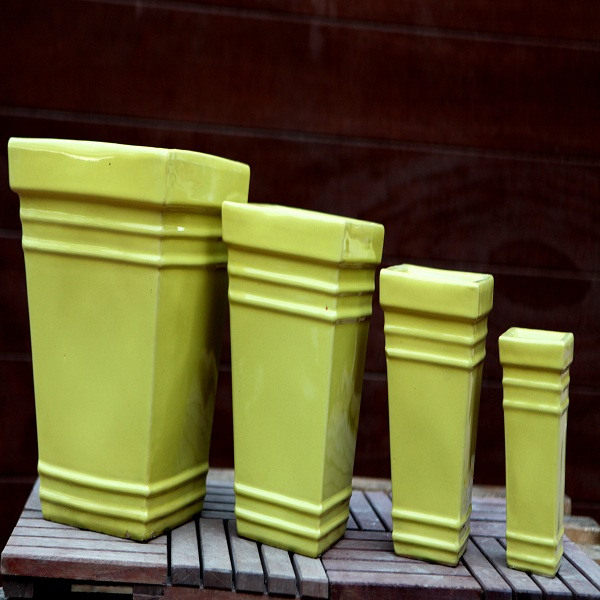Green Ceramic Pots M-CP-83-IP